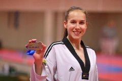 Klaudija Tvaronavičiūtė. Taekwondo daugkartinė Lietuvos, Europos, pasaulio nugalėtoja, prizininkė